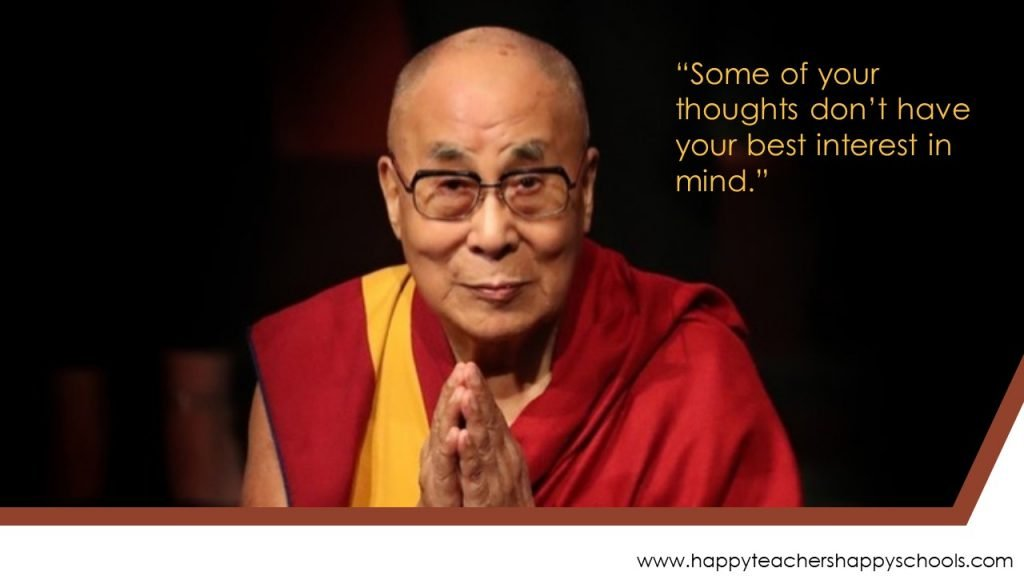 your thoughts are not reality