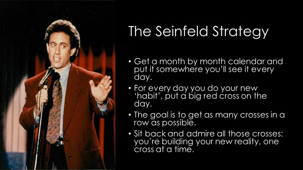 jerry seinfeld on consistency